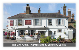 The City Arms, Thames Ditton Surrey
