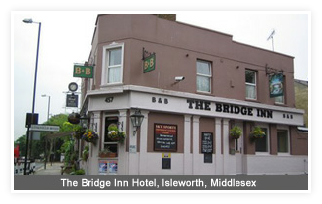 The Bridge Inn Hotel, Isleworth Middlesex