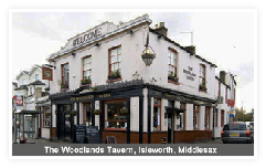 The Woodlands Tavern, Isleworth, Middlesex