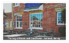 The leg of Mutton and Cauliflower- Ashtead, Surrey
